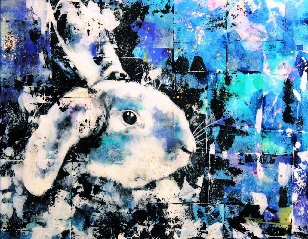 Portrait de Boris le lapin