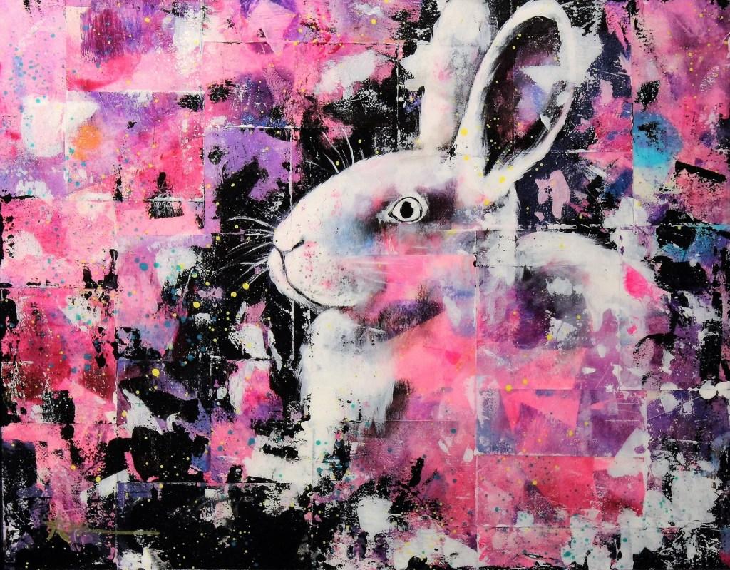 Portrait de Charlotte le lapin