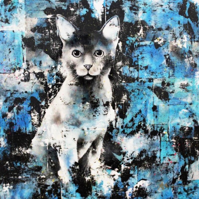 Portrait de chat - Zucchini (maintenant Yubé)
