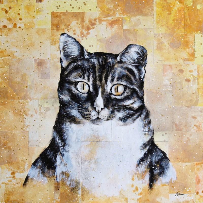 Portrait de Tabitha (chatte)
