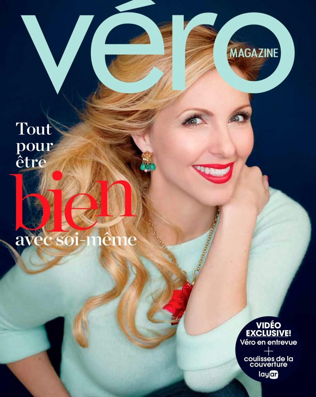 Magazine VERO Veronique Cloutier par Ariane Simard