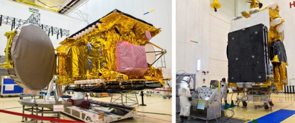 Arabsat-6B and GSAT-15 are readied for Arianespace's ...