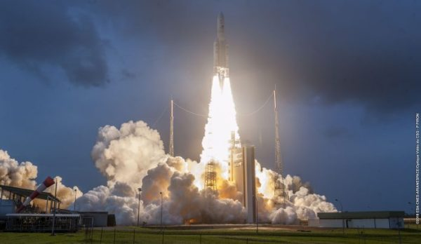 Ariane 5 delivers for two special Arianespace partners ...
