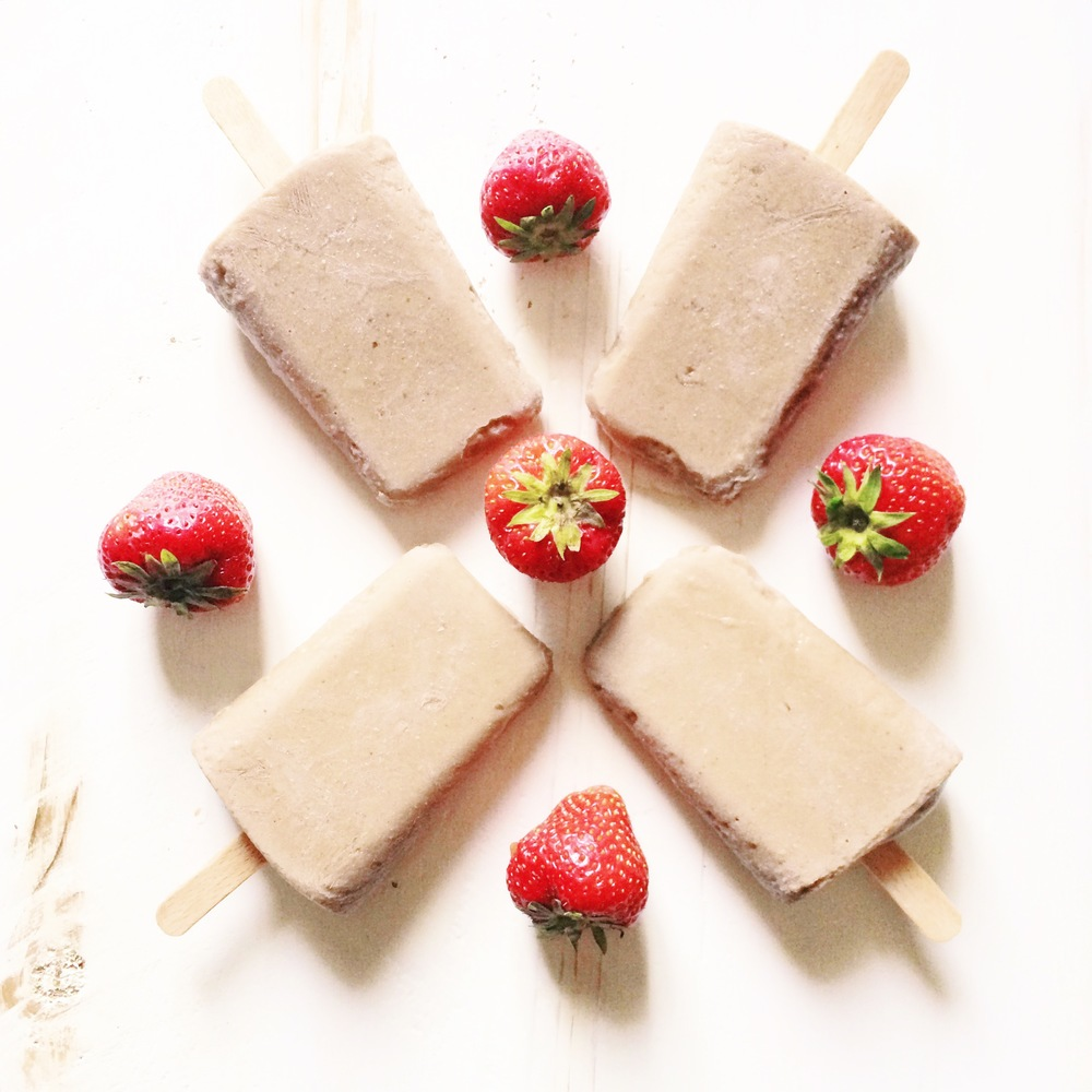 Healthy Choc Ice Lollies