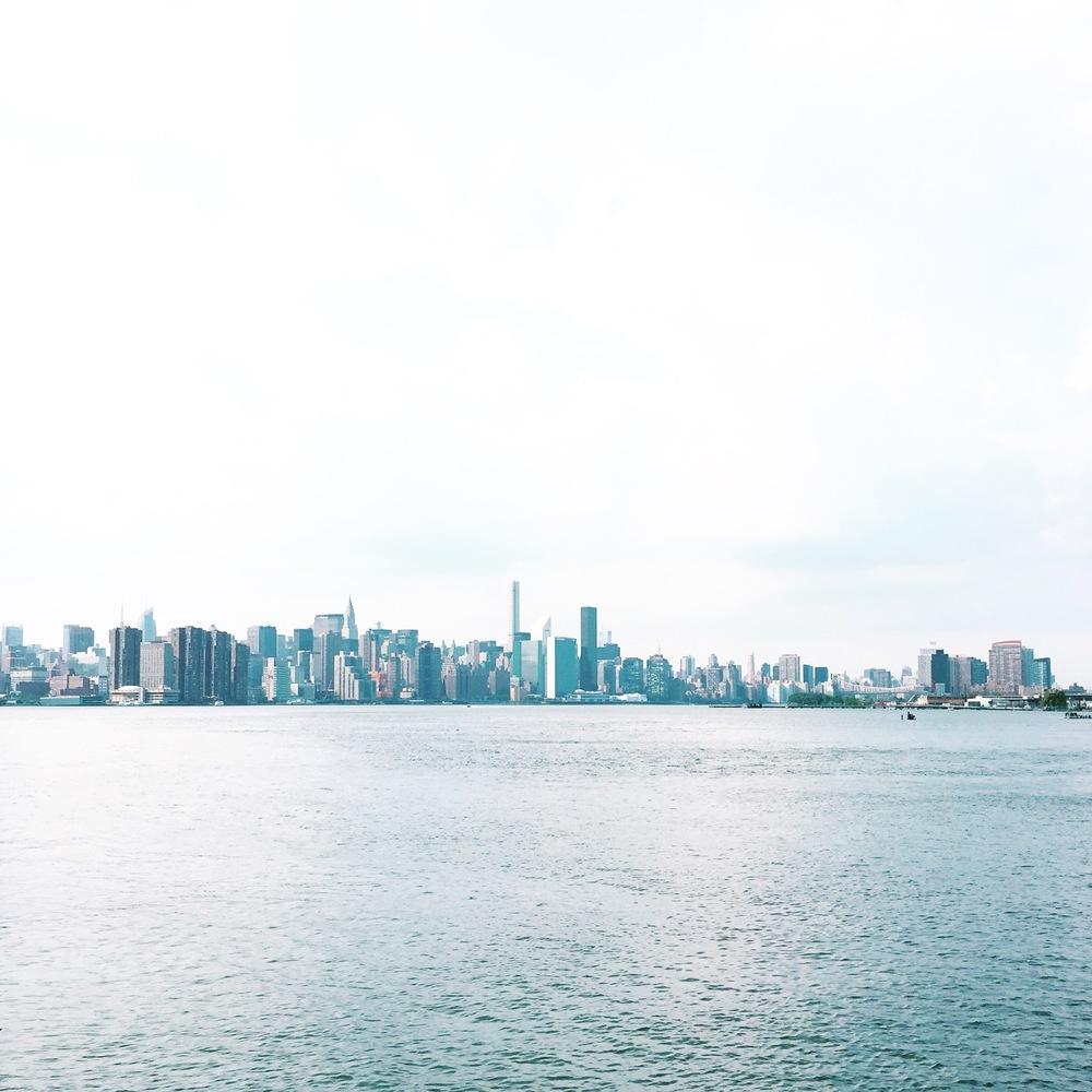 The Manhattan skyline is pretty special...