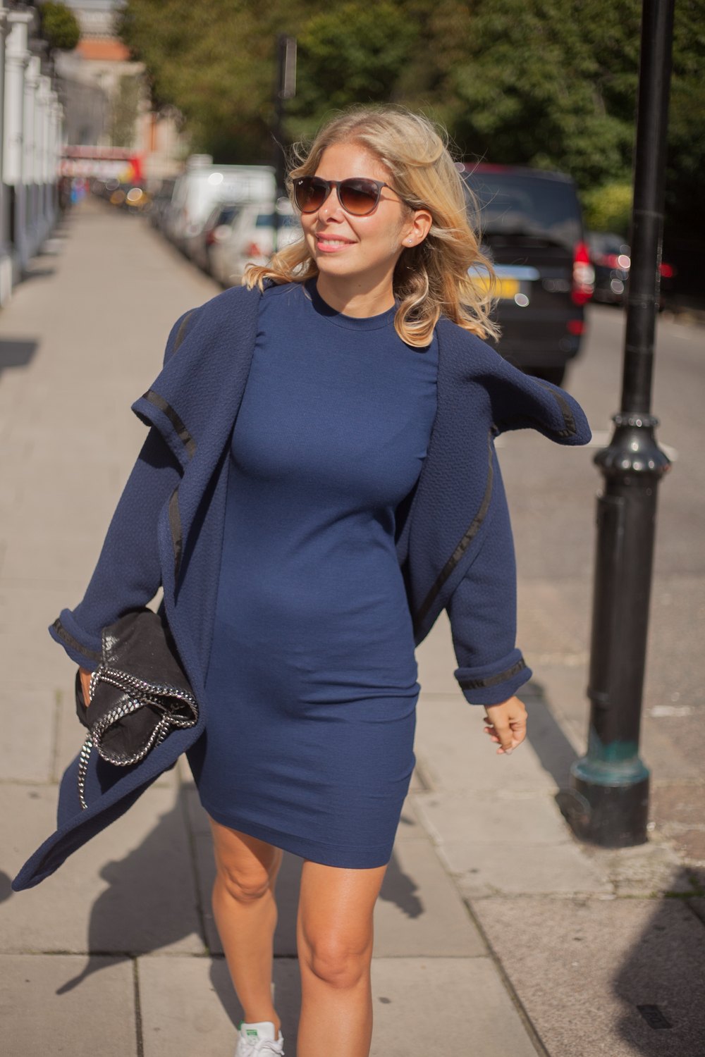 Arianna Trapani wearing A Day In A Life During London Fashion Week.