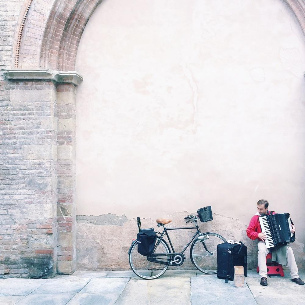 City scenes in Parma, Italy