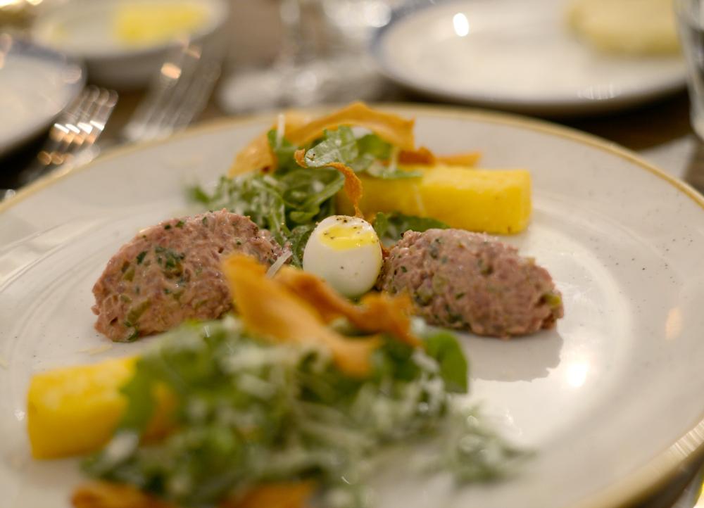 Steak tartare at Modern & Lea