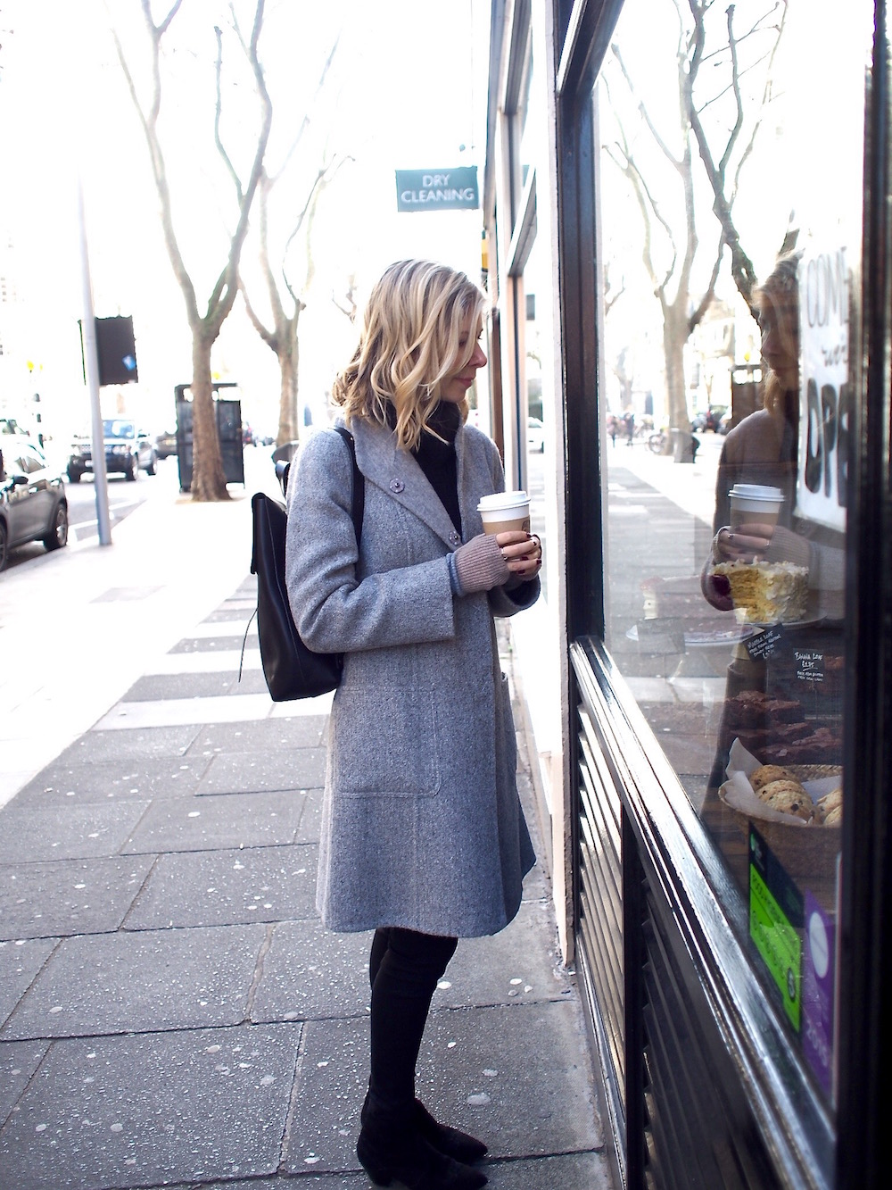 Arianna Trapani wears Eileen Fisher, London Kings Road.