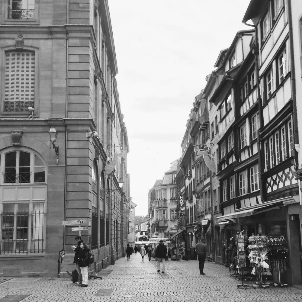 City Centre of Strasbourg.