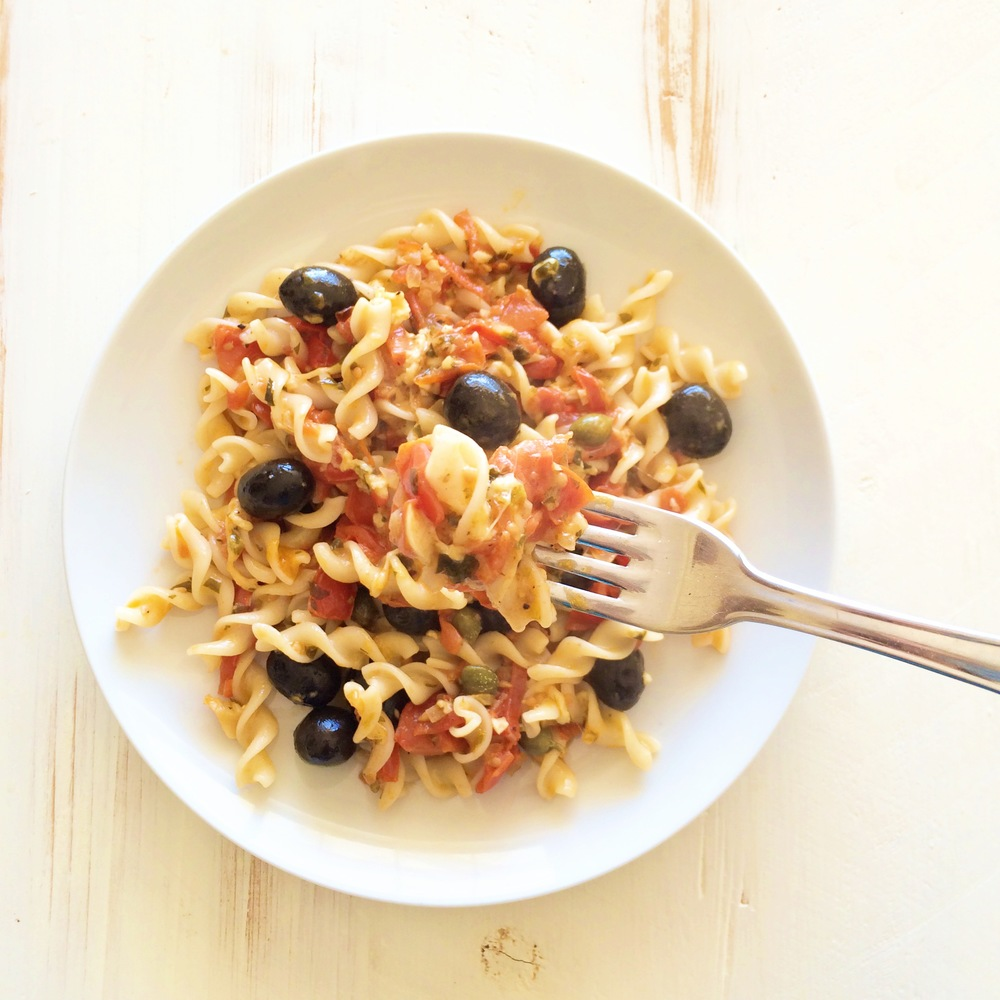 Recipe Of The Week: Rice And Millet Fusilli In Tomato & Mozzarella Sauce