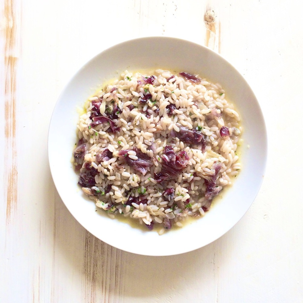 Recipe of the week: Risotto with Radicchio and Pecorino Cheese