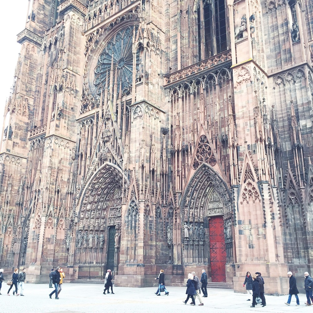 Strasbourg Cathedral.