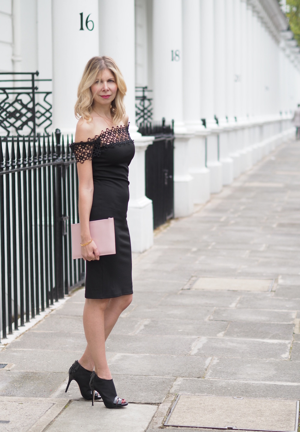 The Ultimate Classic: The Little Black Dress - Arianna Trapani wearing LUX FIX