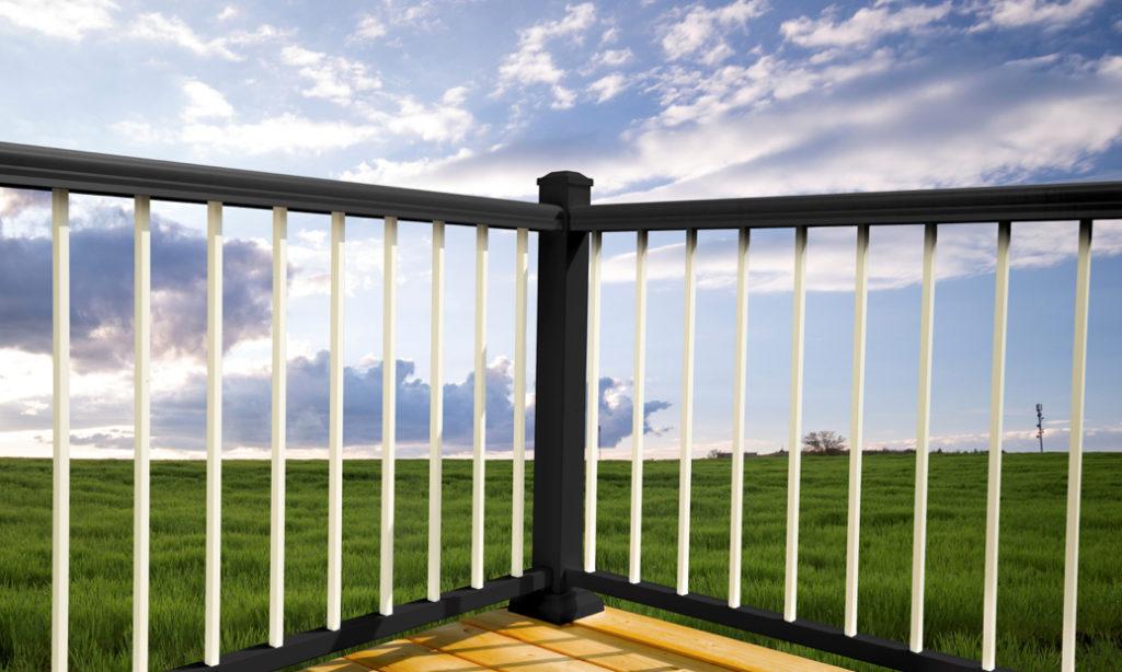 aluminum deck railing at home depot