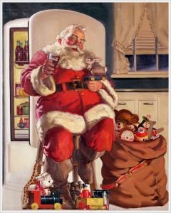 Babbo Natale creato dalla pubblicità della Coca-Cola del 1947