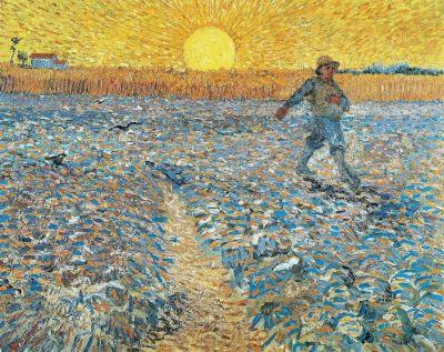 Van Gogh Il seminatore al tramonto 1988