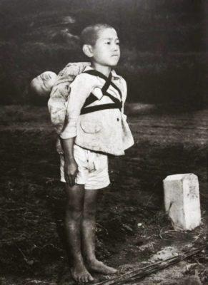 Il Bambino di Nagasaki (Foto di Joe O'Donnell)