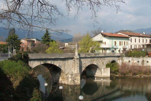 Il ponte Marzio di Gorle