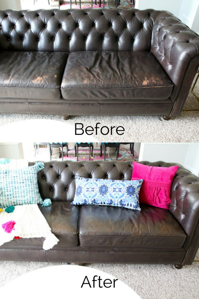 how to repair a leather sofa arie co. Black Bedroom Furniture Sets. Home Design Ideas