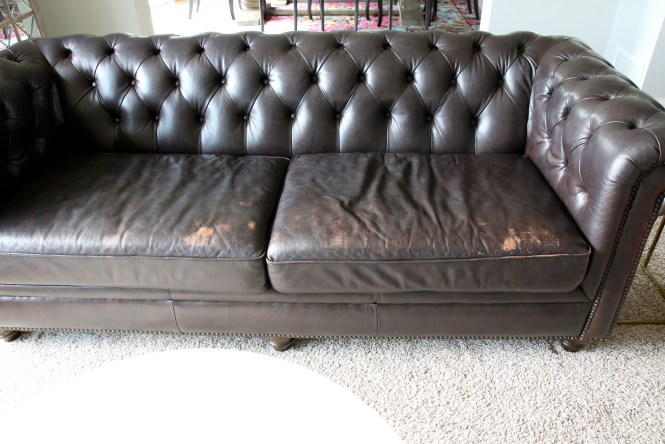 How To Repair A Leather Sofa Arie Co, Bonded Leather Sofa Repair
