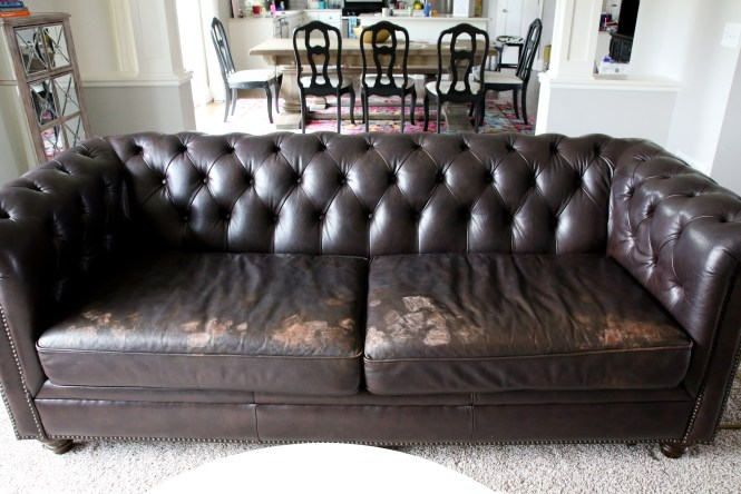How to Repair a Leather Sofa - Arie + Co