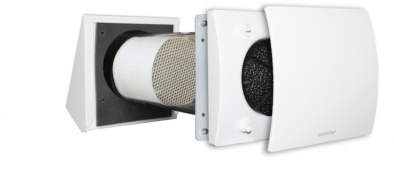 Recuperatori di calore puntuale aqhr100pro e aqhr150pro - Ventilazione recupero calore ...