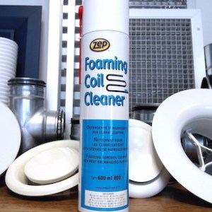 zep foaming coil cleaner