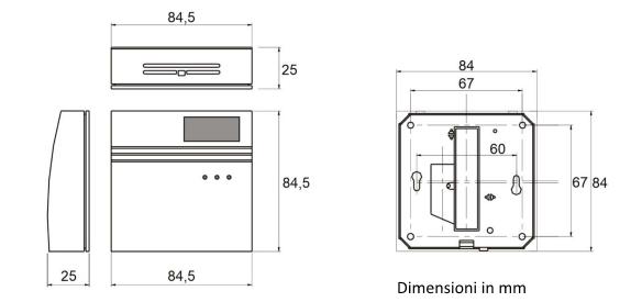 Sensore-CO2-Dimensioni