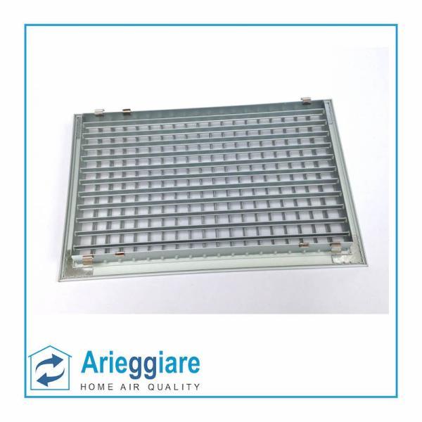 Bocchetta di mandata aria alluminio 400x250 BMC4025usate retro