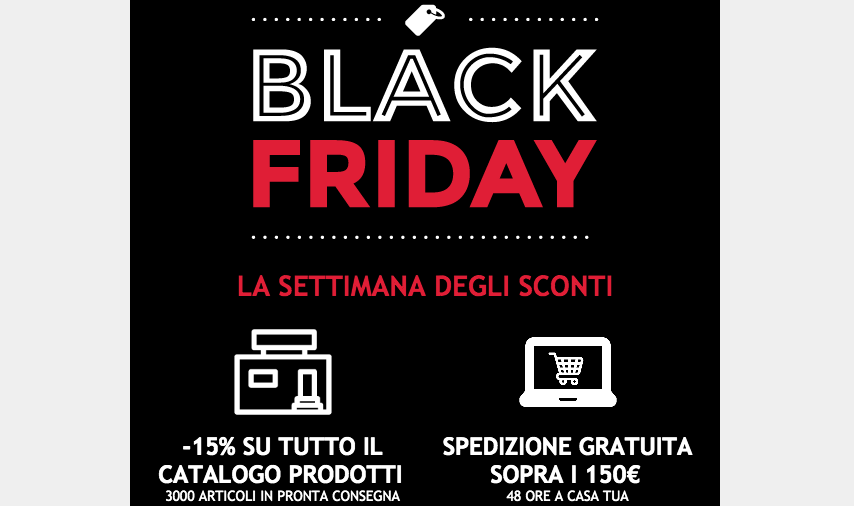 BLACK FRIDAY 2020 ARIEGGIARE