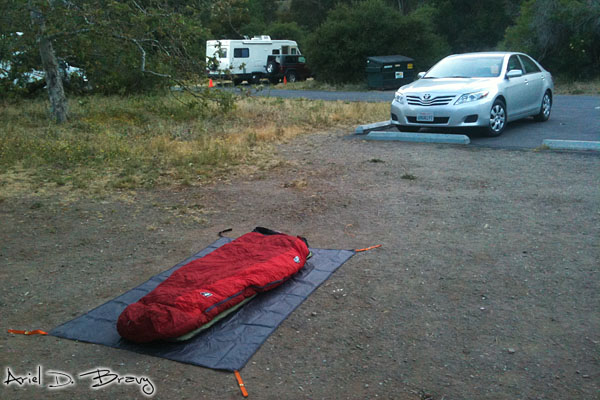 Car Camping at Leo Carrillo SP