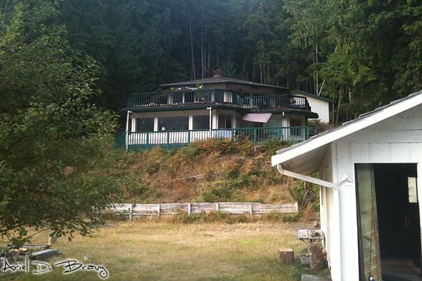Lakehouse, as seen from the water