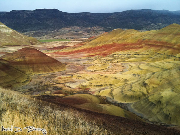 Valley of painted hills