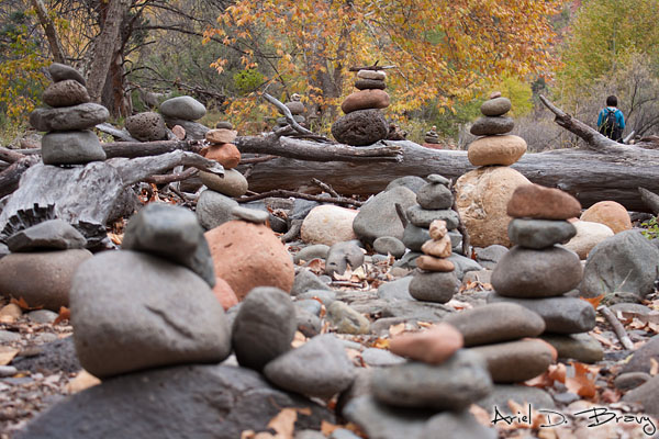 Gettin' down low with the rocks