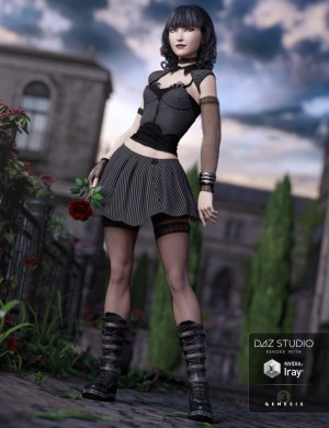 Goth Girl outfit