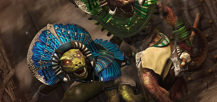 Lizard Shaman outfti and textures for Genesis 2 Male