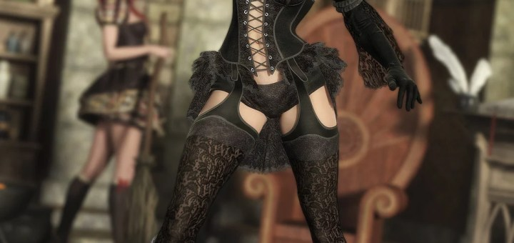 The Sinful Witch Textures