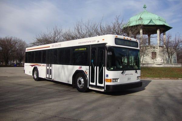 Transit Bus Rental Chicago