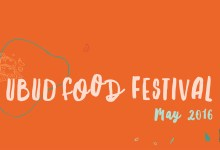My events at the 2016 Ubud Food Festival