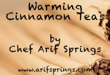 This week's free eBook: Warming Cinnamon Teas