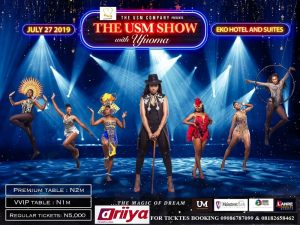 CONCERT - THE USM SHOW WITH UFUOMA