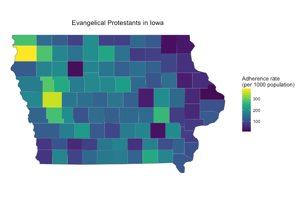 Evangelicals in Iowa