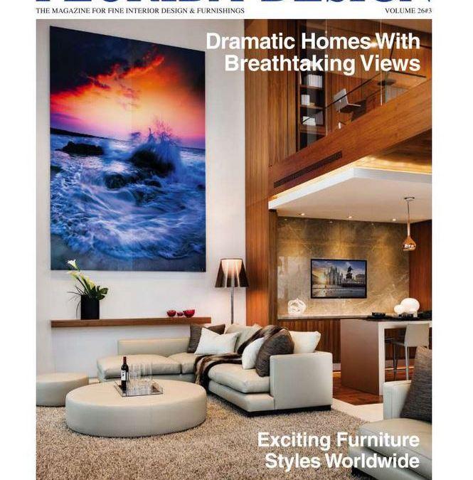 Arimar international was feature in florida design for International home decor magazines