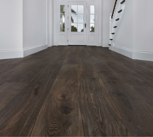 Flooring Trend Matte Finish Hardwood Wide Plank