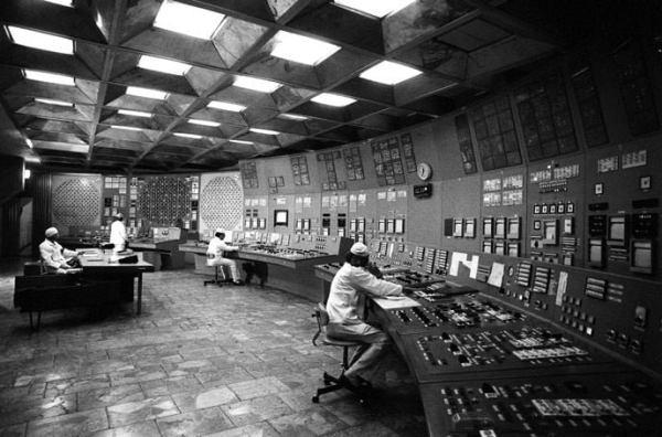 Çernobil 4. Reaktör Kontrol Odası