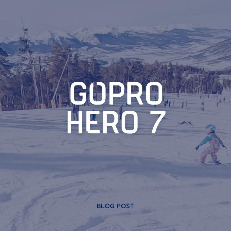 The GoPro Hero 7
