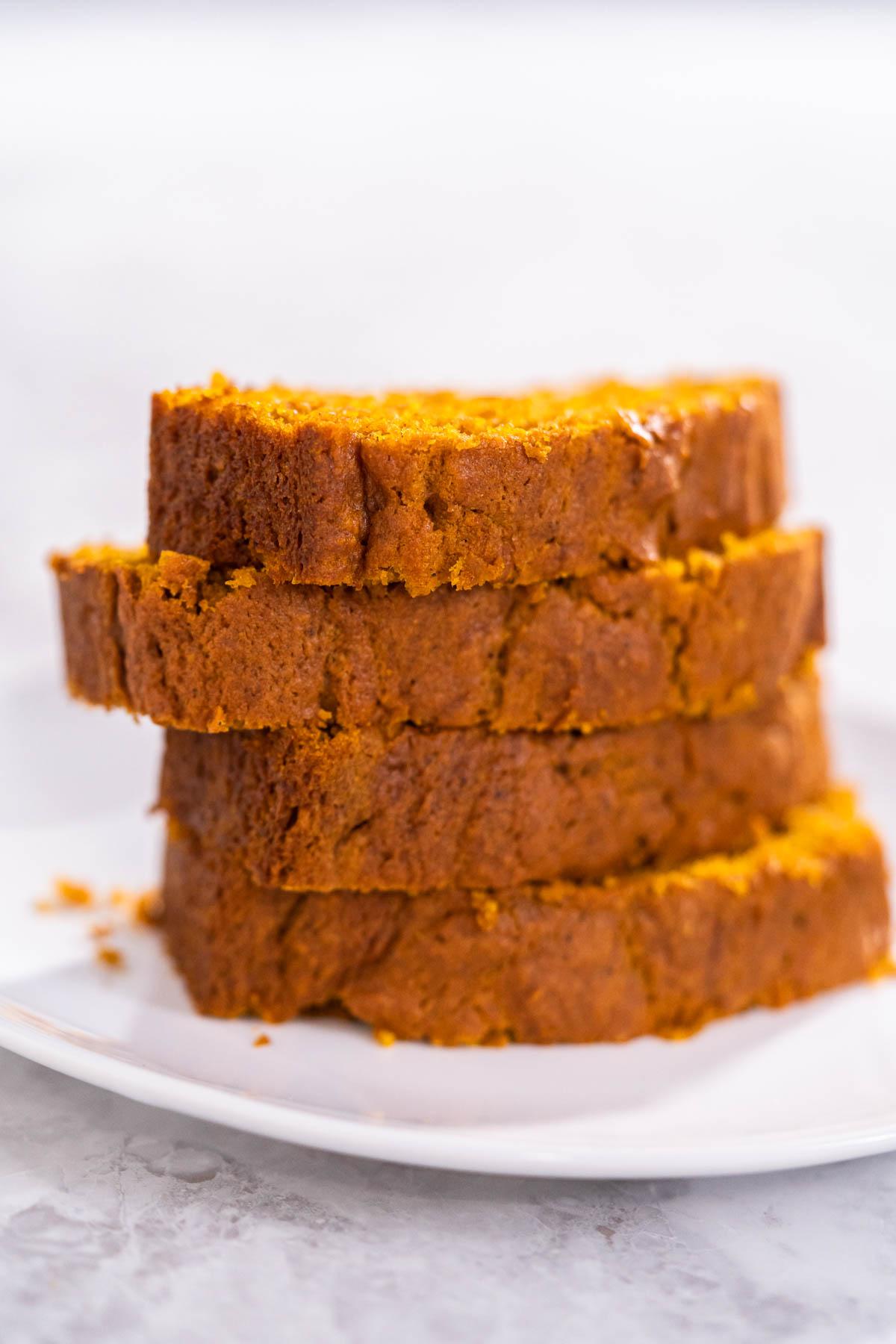 Simple pumpkin bread