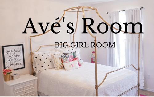 Toddler girl room - www.arinsolangeathome.com