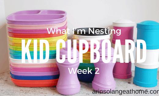Kids Cupboard Organization - www.arinsolangeathome.com